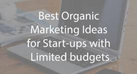 organic marketing ideas