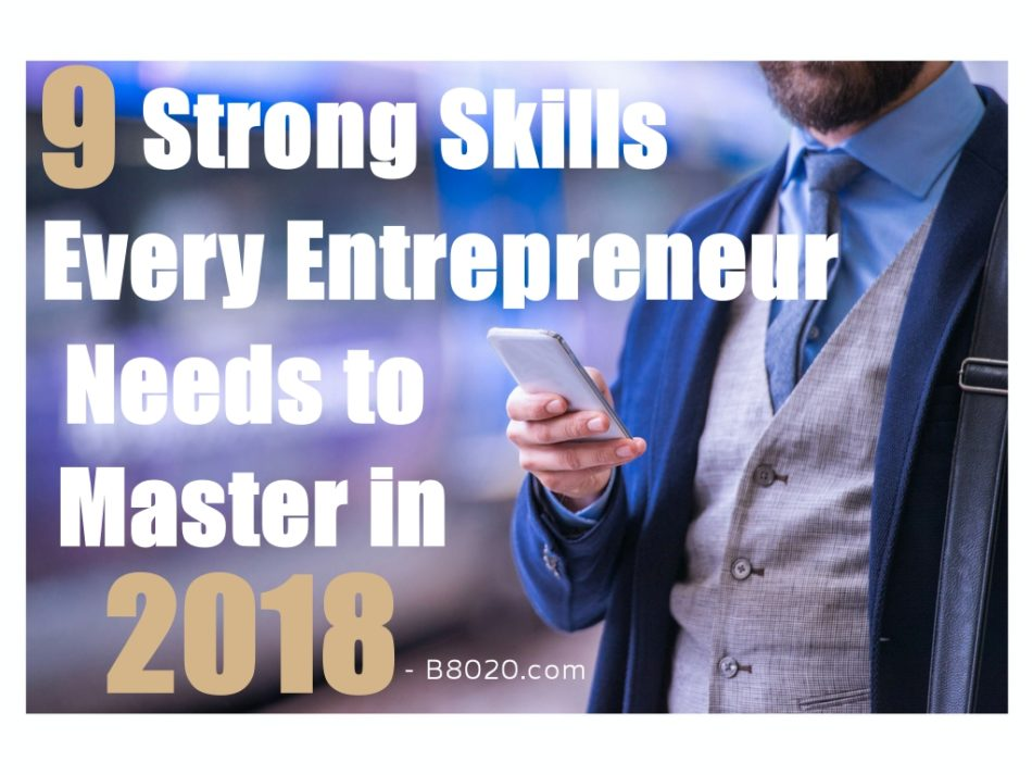 strong skills for entrepreneurs to master
